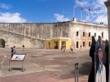 San Juan: eines von drei Forts. Erbaut von den Spaniern